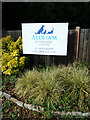 TL9126 : Aldham Veterinary Centre sign by Adrian Cable