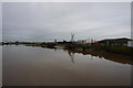 SE8410 : River Trent at Gunness Wharf by Ian S