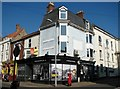 TG5207 : Shops by the junction of King Street and York Road by Evelyn Simak