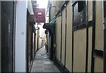 TG5207 : Great Yarmouth's Rows - Row 46 (Sewell's Row) by Evelyn Simak
