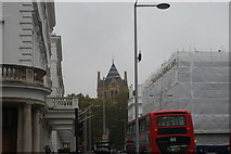 TQ2679 : View of the spire of the Natural History Museum from Cromwell Place by Robert Lamb