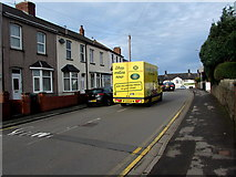 ST3090 : Morrisons home delivery van, Pillmawr Road, Malpas, Newport by Jaggery