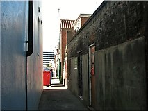 TG5207 : Great Yarmouth's Rows - Row 49 (Vine Row) by Evelyn Simak