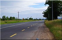 S7682 : R448 road south of junction with M9 motorway, near Prumplestown, Co. Kildare by P L Chadwick