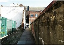 TG5207 : Great Yarmouth's Rows - Row 44 (Angel Row) by Evelyn Simak