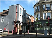 TG5207 : Great Yarmouth's Rows - Broad Row by Evelyn Simak