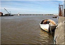 TG5107 : The River Yare east of Breydon Water by Evelyn Simak