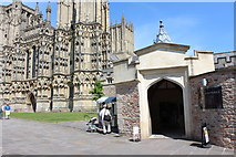 ST5545 : Wells Cathedral  (4) by Chris' Buet