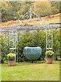 NH7523 : Artwork in Kyllachy House Garden by valenta