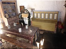 N5877 : A corner of Maggie Heaney's Cottage by Oliver Dixon