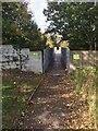 ST1281 : Footbridge over M4 by Alan Hughes