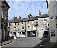 SD6178 : Junction of Market Street and Main Street, Kirkby Lonsdale by Bill Harrison