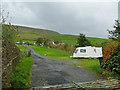 SD7742 : Angram Green caravan site by Stephen Craven