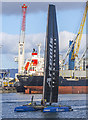 J3575 : Artemis Racing yacht, Belfast by Rossographer