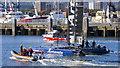 J3475 : Artemis Racing yacht, Belfast by Rossographer