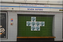 TQ3388 : Seven Sisters Underground Station by N Chadwick