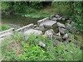 SU8695 : Hughenden Stream: Hughenden Park Weir (4 of 4) by Nigel Cox