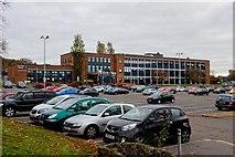 NS3421 : Ayrshire College Dam Park Building - Ayr by Ian Rainey