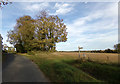 TL9128 : Footpath to Ponders Road by Adrian Cable