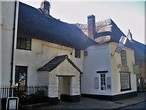 SX7087 : Chagford houses [9] by Michael Dibb