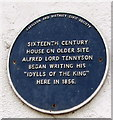 ST3490 : Hanbury Arms blue plaque, Caerleon by Jaggery