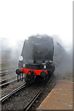 SD8010 : East Lancashire Railway - emerging from its own mist! by Chris Allen