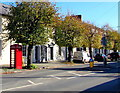 SO0428 : Grade II listed red phonebox, Watton, Brecon by Jaggery