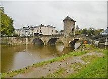 SO5012 : Monmouth, Monnow Bridge by Mike Faherty