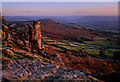 SK2575 : Autumn evening on Curbar Edge by Andy Stephenson