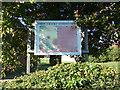 TM4198 : Norton Subcourse Methodist Church Notice Board by Geographer