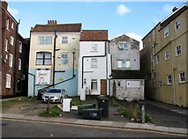 TG5207 : Houses adjacent to the King Street car park by Evelyn Simak