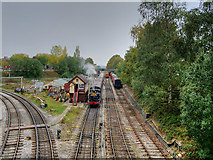 SD8010 : East Lancashire Railway, Bury South Junction by David Dixon