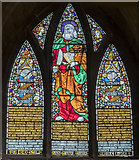 SK7519 : St Bartholomew Window, St Mary's church, Melton Mowbray by Julian P Guffogg