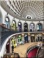SE3033 : Leeds Corn Exchange, Interior by David Robinson