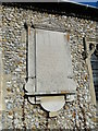 TF9235 : WW2 memorial on Houghton St. Giles church by Adrian S Pye
