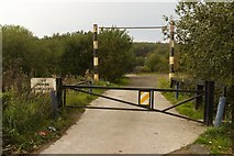 SD6409 : Entrance to Red Moss from Futura Park by Mark Anderson