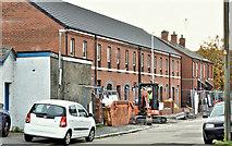 J3574 : New social housing, Susan Street, Belfast (October 2018) by Albert Bridge