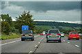 ST3756 : North Somerset : M5 Motorway by Lewis Clarke