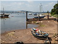 SX9980 : Tidal inlet, Exmouth by Chris Allen