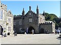 SX4874 : Abbey gatehouse and adjoining buildings by Michael Dibb