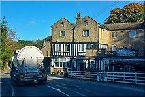 SK2480 : Hathersage : Sheffield Road A6187 by Lewis Clarke