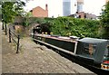 SJ8397 : Huffler at Castlefield by Gerald England