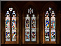 SD8010 : Bury Parish Church, West Window by David Dixon