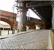 SJ8397 : Duke Street Arches by Gerald England