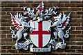 TQ3257 : City of London Corporation coat of arms by Ian Capper