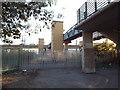 TQ4982 : Former level crossing, Dagenham Dock by Malc McDonald