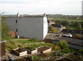 ST6257 : Allotments on the old union house by Neil Owen