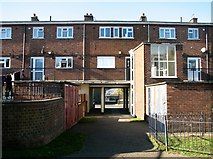 TG5206 : The rear of flats on South Quay by Evelyn Simak