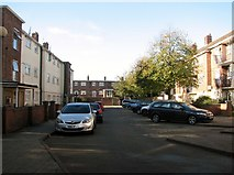 TG5206 : 1-24 Burleigh Close off Middlegate by Evelyn Simak