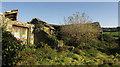 SX4772 : Derelict farm buildings, Crowndale by Derek Harper
